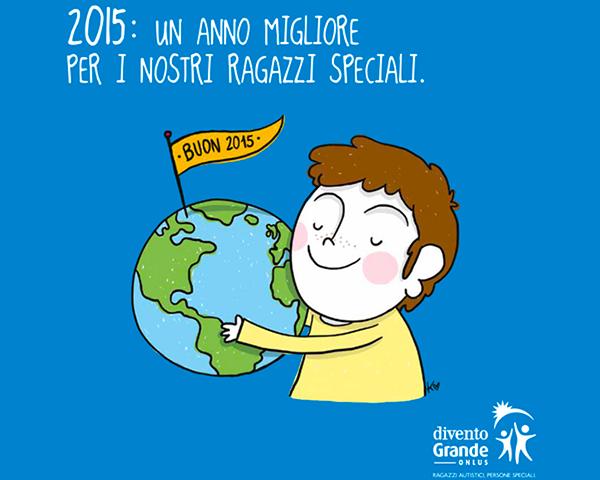 Divento grande Onlus   Calendario 2015